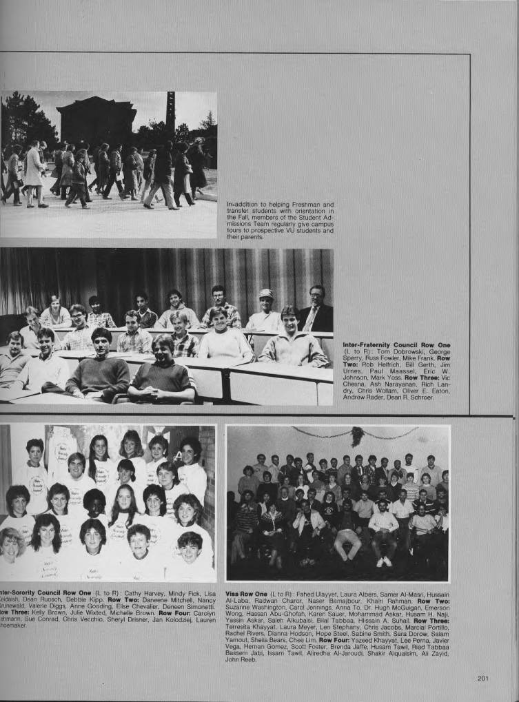 The Beacon 1985 Valparaiso University Yearbooks Valparaiso