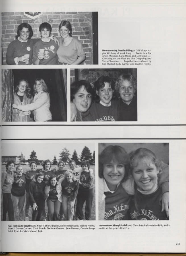 The Beacon 1983 Valparaiso University Yearbooks Valparaiso